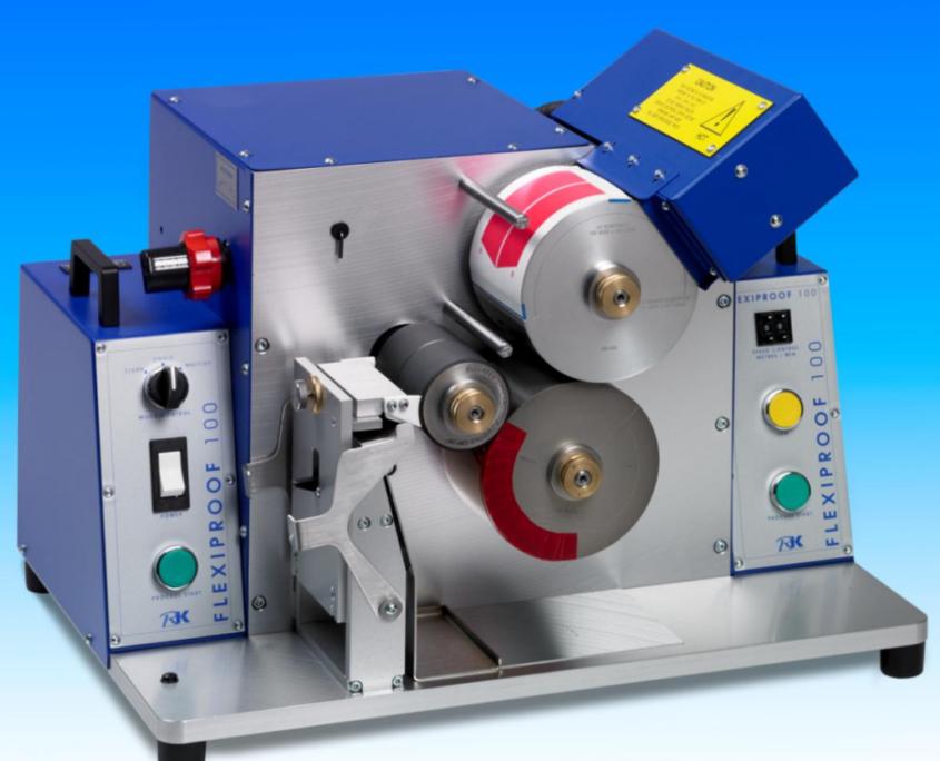 Met de RK Flexiproof maakt u snel en eenvoudig een drukproef voor kwaliteitscontrole
